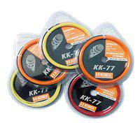 Konex High Resilience Badminton String Color : Assorted (2) with SportsHouse Wrist Band