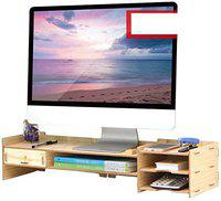 Jukkre TV Entertainment Unit Set Top Box Stand With Drawer Wall Mounted Shelf Racks for Home Living Room Floating Shelves for Bedroom