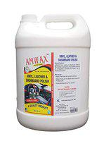 Amwax Vinyl Leather Dashboard Polish 5 LTR