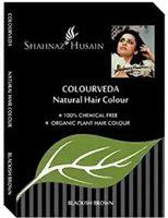 SHAHNAZ HUSSAIN Color Veda Natural Hair Color (BLACK)