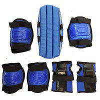 Hipkoo 4 in 1 Protective Kits, Children Skating Guards and Cycling (Blue)