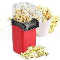 Blue World Plastic Popcorn Maker 1200 Watts, Multicolor