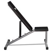 RV Adjustable Incline, Decline, and Flat Bench Weight Strength Training Bench, Sit Up Abs Fitness Bench for Full Body Workout of Home Gym