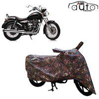 ABS AUTO TREND Jungle Bike Body Cover for Royal Enfield Thunderbird 350 ( Green )