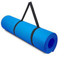 SIGNATRON 10mm Extra Thick Yoga and Exercise Mat Anti Skid with Carrying Strap for Gym Workout and Flooring Exercise