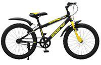 GANG Groovy 20T 20 x 2.35 Inches Tube Type 12.00 Inch Frame Unisex Kid's KIFD Bicycle for 7 to 9 Years