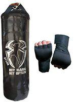 Byson Extra Strong Boxing Kit Set for Men and Adult 36inch Punching Bag and Hand Wrap for Boxing,Kickboxing,Karate,Muaythai,Judo,Exercise,Fitness