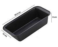 Perfect Pricee Max Home Aluminium Non Stick Coated Baking-Tray Bread Loaf Mould Pan (Black) (Bread & Loaf Tins_BLK)