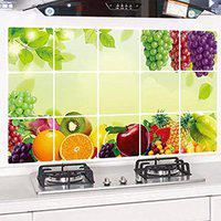 NK-STORE's Waterproof and Oil-Proof Temperature Resistant Self Adhesive Peel Off Wall Stickers for Kitchen and Home Decor