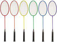 Full Size Handle Badminton Rackets Set of 6 Offer by Forever Online Shopping