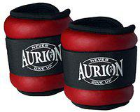 Aurion Wrist/Ankle Weights Home Gym Weight Bands (Red, 1 kg (0.5 Kg X 2))