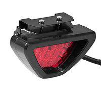 AUTOVEA Car 12 LED Brake Light with Flasher (Red) Colour for Scorpio