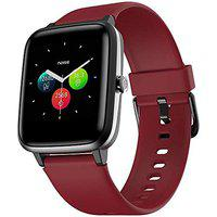 (Renewed) Noise Colorfit Pro 2 Full Touch Control Smart Watch (with Cloudbased Watch Faces) - Cherry Red