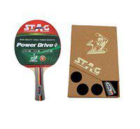 Stag Power Drive Table Tennis Racquet with Case(Pack of: 1, 670 g)