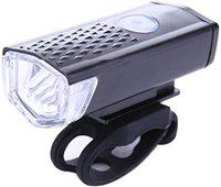 PROTOS INDIA.NET Cycle Light LED Rechargeable Front Light USB Waterproof High Power Front Light Headlamp