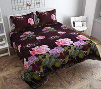 stylla Spice bedsheet with 2 Pillow in Size (230 x250) cm