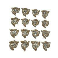 Dulhan Plaza Zardosi Work Triangle Applique Patches for Dress Designing Jewellery Making Home Decoration Art and Craft (25)