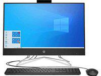 HP All-in-One 23.8-Inch FHD with Alexa Built-in (10th Gen Intel Core i5-10400T/8GB/1TB HDD/Win 10/MS Office 2019/Jet Black), 24-df0061in