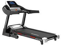 Cockatoo CTM201 Steel Auto Incline (16%) 3 HP - 6 HP Peak DC Motorised Treadmill for Home Use Automatic and Fit Show App Support, Free Installation Assistance