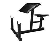 Produman hub Fitness Bench, Adjustable Gym Bench Multipurpose, Preacher Curl Arm Exercises Bench for Biceps, Triceps, Wrist, Arms, Shoulder Excercises for Home Gym