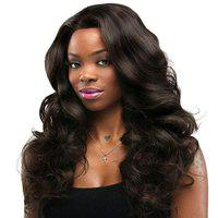 Thrift Bazaar Dark Brown Long wavy and Carly hair extension for girl and women