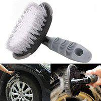 Vetra Wheel Tyre Rim Scrub Brush Hub Clean Wash Useful Brush Car Truck Motorcycle Bike Washing Cleaning Tool for Nissan Sunny