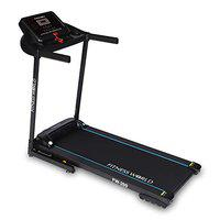 FITNESS WORLD FW-200 Series 3 HP DC Motor Domestic Treadmill with LED Display for Men, Women, Home and Gym, Health & Fitness Exercise Treadmill