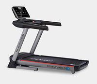 FITNESS WORLD T4 Series 8 HP Peak DC Motor Semi-Commercial Treadmill 0-15 Level Auto Incline Treadmill with LED Display for Men, Women, Home and Gym, Health & Fitness Exercise Treadmill