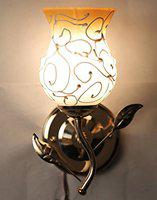 GLOW Royal Fancy Decorative Wall Lamp Light with Unique Stylish Fitting and All Fitting & Fixture (Yellow)