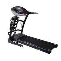 Welcare WC2288MI 1.75HP (3 HP Peak) Multifunction Motorized Auto Incline Folding Treadmill with LCD Display, Soft Cushion Perfect for Home Use