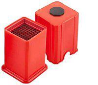 SNR Potato Chips Cutter/Slicer French Fries Maker Red (Pack 1)