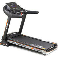 Kobo Fitness A.C Motor 3 H.P (TM-307) Motorized Auto Incline Treadmill, Full LED Display and Free Installation Assistance, Home Use Jogger (2021 Model)