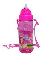 Pelo Kids Cup Straw Water Bottle for Schools Travel Use (Multicolor)