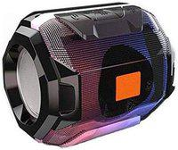 Greenbell Audio deep bass Portable Rechargeable Splash/Waterproof Flashing LED Light Best Wireless/Gaming/Outdoor/Call Function/Home Audio Bluetooth Speaker/Speakers (Black)