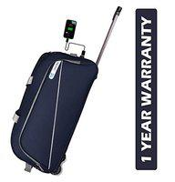 3G Napoli Series 1 Smart Duffel Trolly Bag with USB Polyester 65 cmTravel Duffle Navy Blue