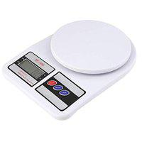 SB Enterprise Multipurpose Portable Electronic Digital Weighing Scale Weight Machine (10 Kg - with Back Light)