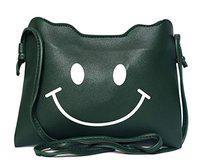 Lassie's Smiley Sling Bag For Girls (green)