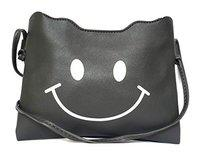 Lassie's Smiley Sling Bag For Girls (grey)