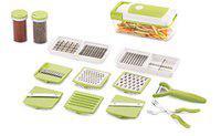 Shree Enterprises 20 in 1 Multipurpose Fruit & Vegetable Chopper, Slicer, Chipser, Dicer, Cutter and Grater