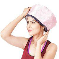 AASHRO MALL Hair Care Thermal Head Spa Cap Treatment With Beauty Nourishing Heating Cap, Spa Cap For Hair, Spa Cap Steamer For Women
