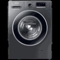 Samsung Hygiene Steam 7.0 Kg Fully Automatic Front Load Washing Machine (WW71J42E0BX/TL, Inox)