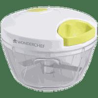 Wonderchef String Chopper (Suitable for Fruits plus Vegetable, 3 Blades, 63152935, White/Green)