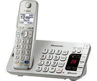 New Imported Panasonic KX-TGE275S Cordless Landline Phone Silver Color