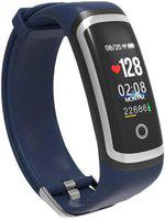 WEARFIT Smart Band with Real-time(Blue Strap, Size : 0)