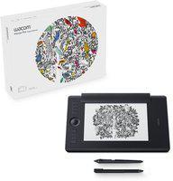 WACOM PTH660/K1-CX intuos pro paper edition 13.3 x 8.6 inch Graphics Tablet(Black)