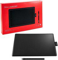 WACOM CTL-672/K0-CX One By 8.5 x 5.3 inch Graphics Tablet(Black)