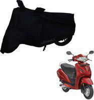 Mototrance Two Wheeler Cover for Honda(Activa, Black)