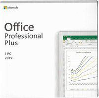 MICROSOFT OFFICE PROFESSIONAL PLUS 2019 LIFE TIME ACTIVATION KEY ONE TIME PURCHASE FOR ONE PC