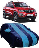 AUCTIMO Car Cover For Renault Kwid (With Mirror Pockets)(Blue)