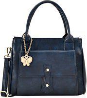 (butterflies Women Stylish And Modern Handbag (navy Blue) (bns 0718nbl)